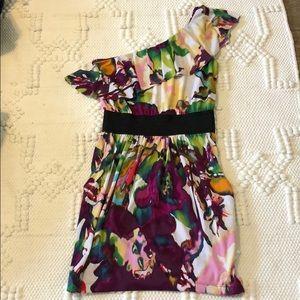 ARDEN B. Midi Colorful Dress